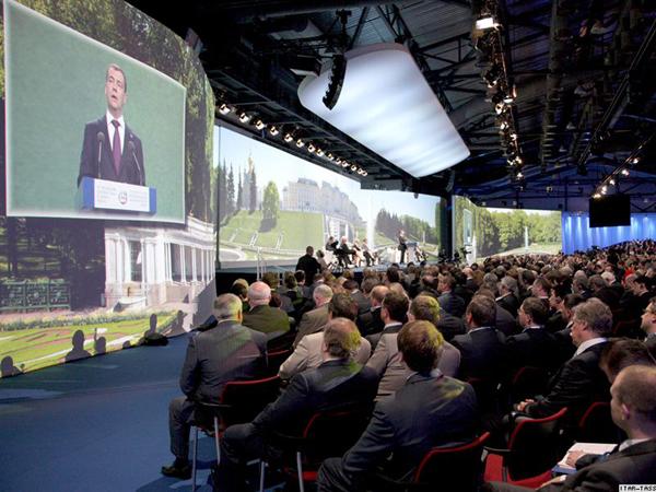 Выступление Медведева на форуме