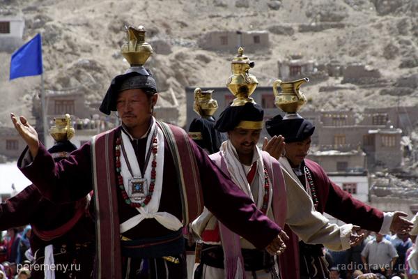 Индия. Ладакх (или Западный Тибет). Фестиваль ариев. Фото Глеба Давыдова