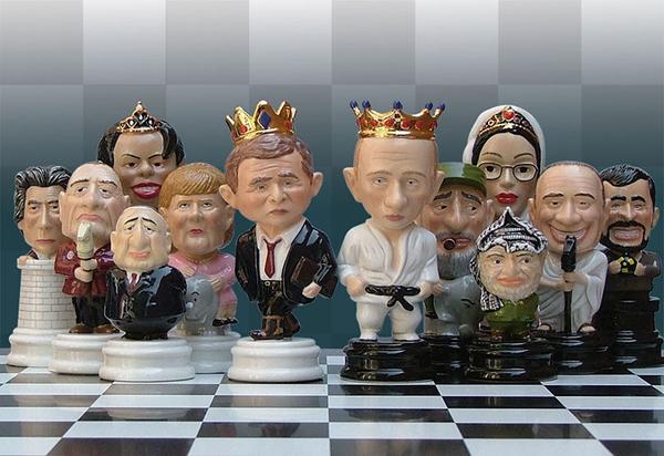 Шахматные фигуры. Иных уж нет...