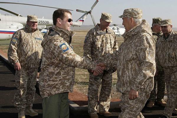 На учениях войск ОДКБ в Челябинской области