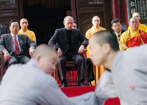 В монастыре Шаолинь