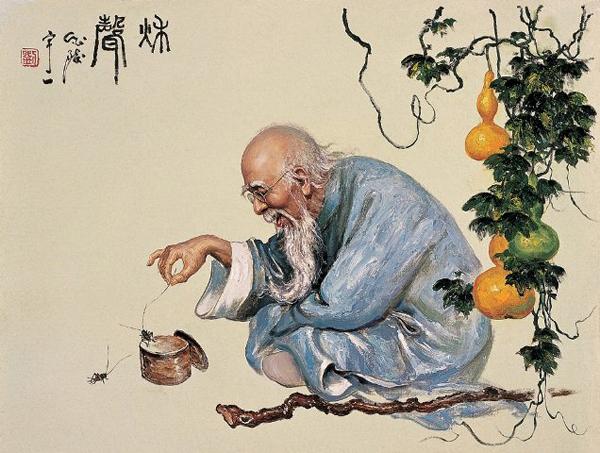 Мудрец. Современная китайская живопись