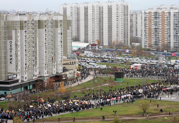 Русский марш. 4.11.11