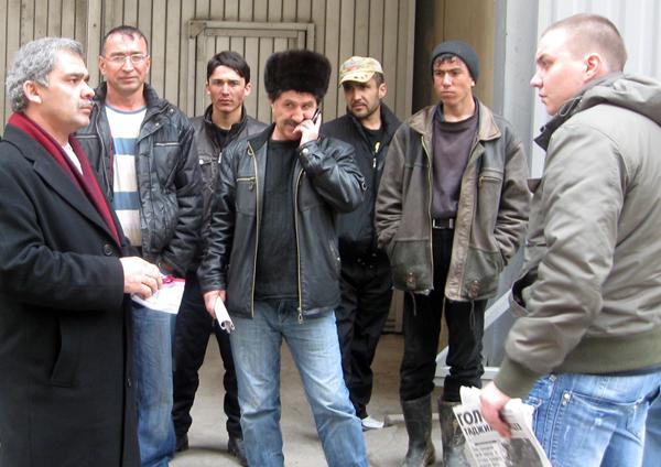 Нем таджикских рабочих