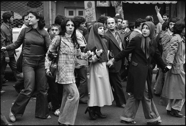 Революционная иранская молодежь. 1979