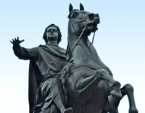 Белый царь Петр I