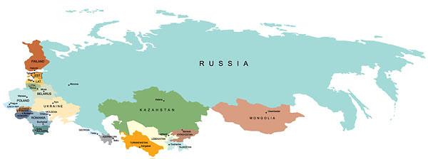 Рис. 5.4. Экономический и валютный союз 23 стран участниц (введение рубля в качестве единой конвертируемой валюты)