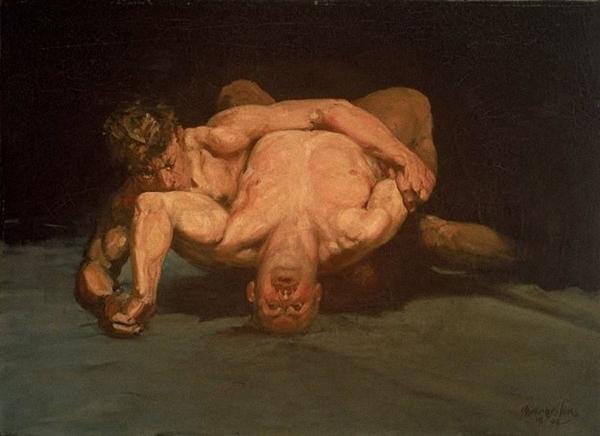 Бенджамин Лукас. Борьба. 1905