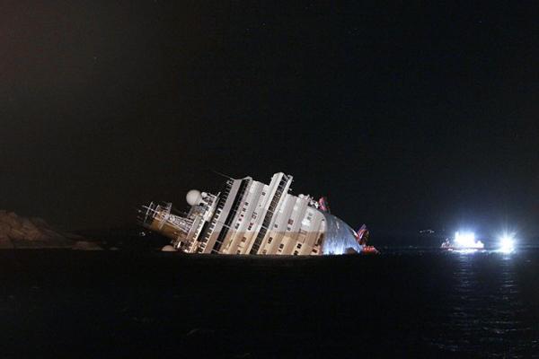 Гибель лайнера Costa Concordia