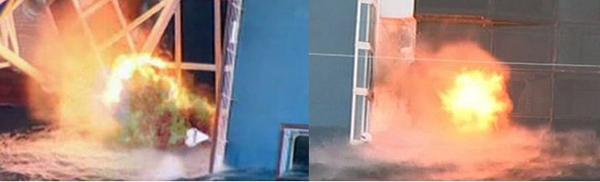 Взрывы на Конкордии для получения доступа внутрь лайнера в ходе спасательной операции