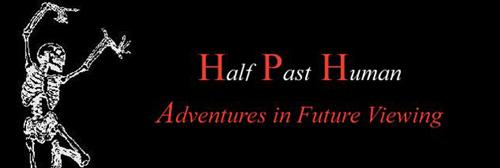 Аватар Веб-бота halfpasthuman с девизом: Смотрим в будущее с приключениями
