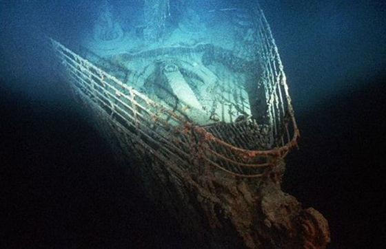 Титаник на дне Атлантики