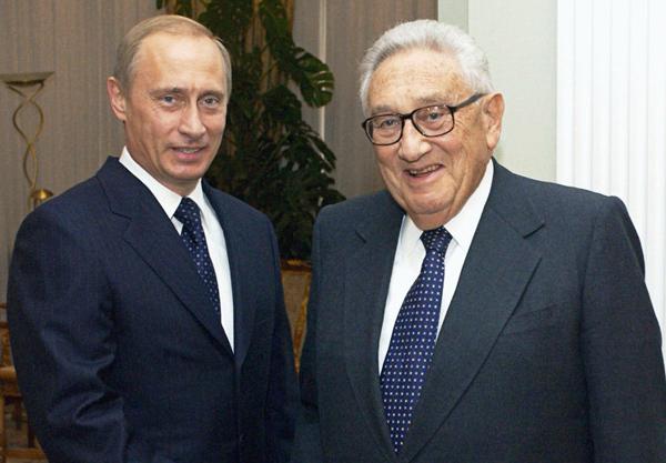 Путин и Киссинджер