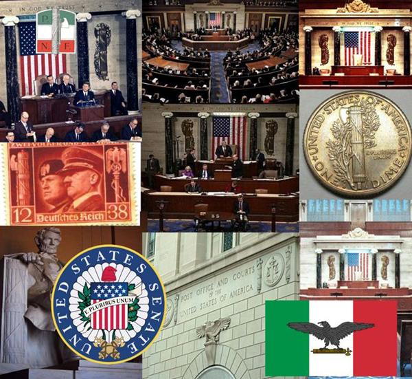 Римская символика в атрибутах власти САСШ