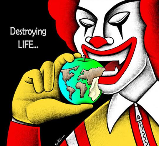 Destroyng life