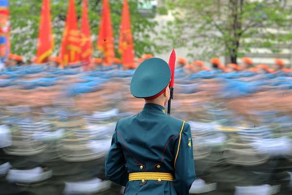 Парад на Красной площади 9 мая 1912 года