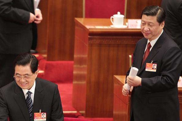 Ху Цзиньтао и Си Цзиньпин