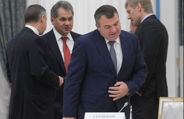 Сердюков и Шойгу