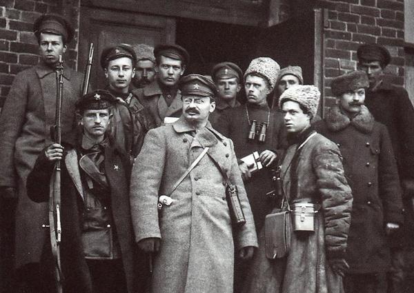 Троцкий во время Гражданской войны