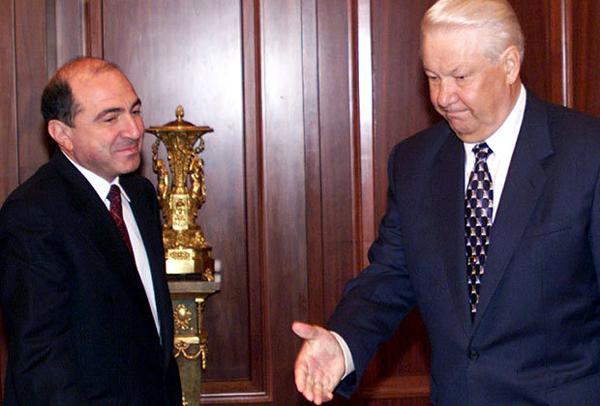 Ельцин и Березовский
