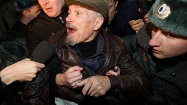 Очередной арест Эдуарда Лимонова