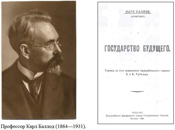 Профессор Карл Баллод (1864—1931)