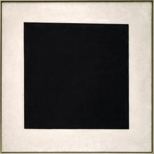 Черный квадрат Малевича. 1929