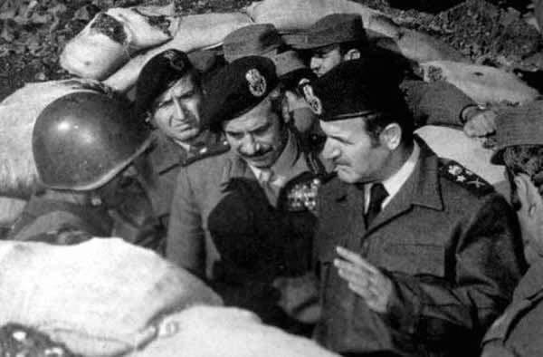Хафез Асад во время войны Судного дня