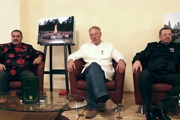 Слева направо Александр Ибрагимов,  Александр Кашанский, Андрей Девятов