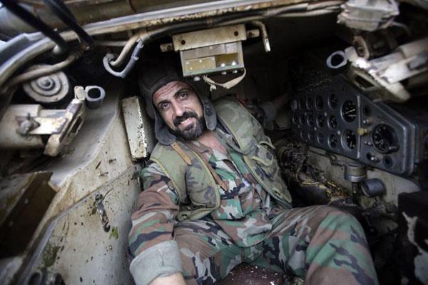 Сирийский танкист