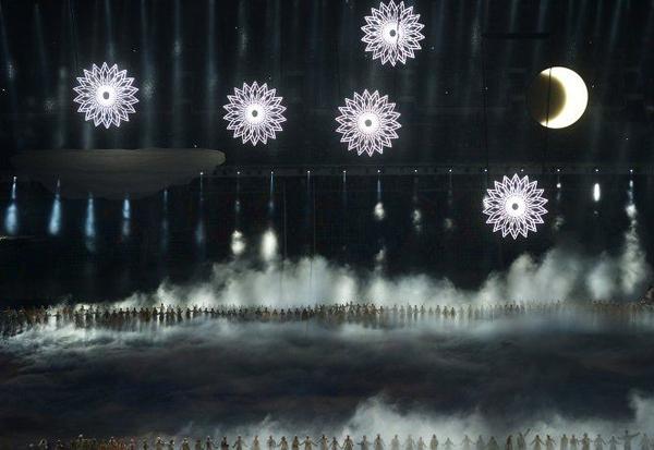 Фото с открытия олимпиады в Сочи