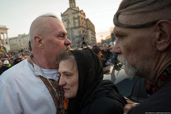 Похороны героев Майдана. Фото Ilya Varlamov