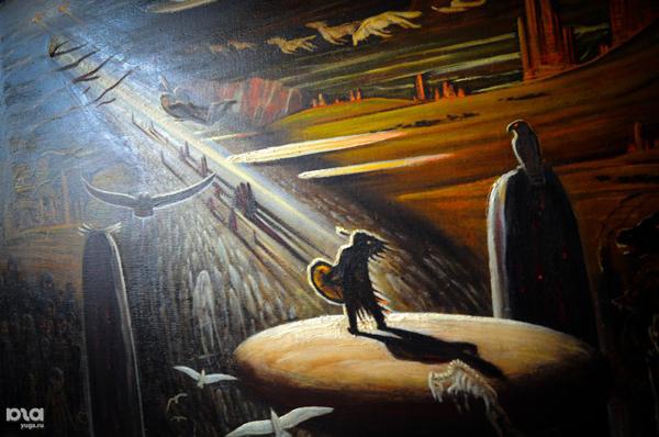 Шаман. Картина якутского художника Тимофея Степанова