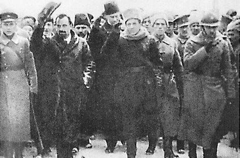 Петлюра и Винниченко. Киев, декабрь 1918