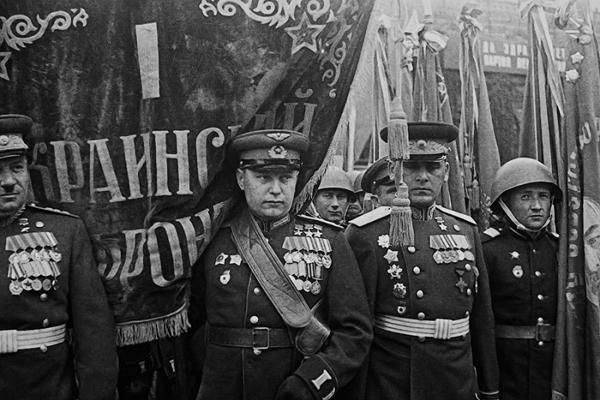 Парад Победы. 1945