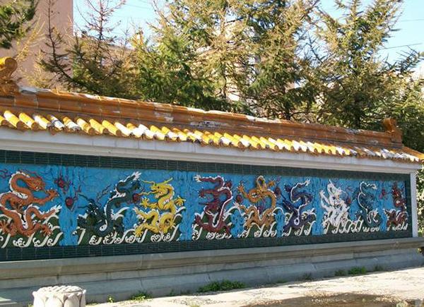 Стена девяти драконов – могуществ мира невидимого