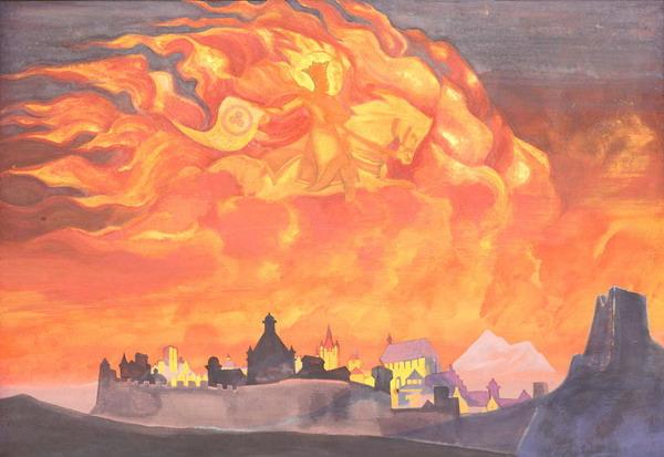 Н.К.Рерих. София - Премудрость Божия. 1932