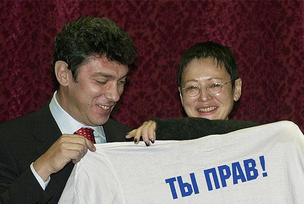 Немцов и Хакамада