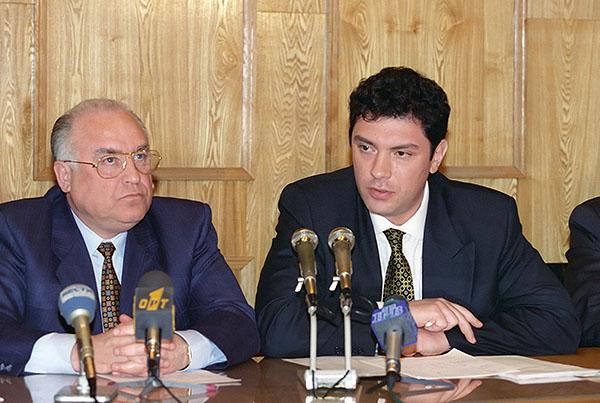 Немцов и Черномырдин