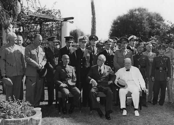 Каирская англо-американо-китайская встреча