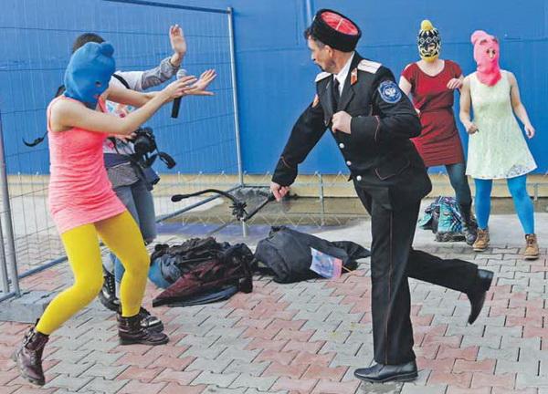 Радикальное критическое высказывание кубанских казаков. После этой критики пуськи как-то сникли
