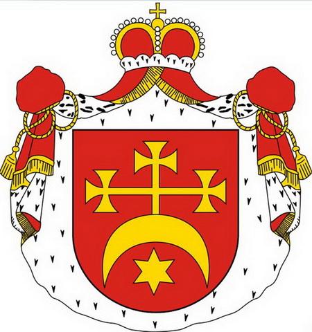 Герб Корибут, наследником которого были Вишневецкие