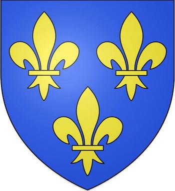 Герб «Флер де лис», символ королевского дома Бурбонов