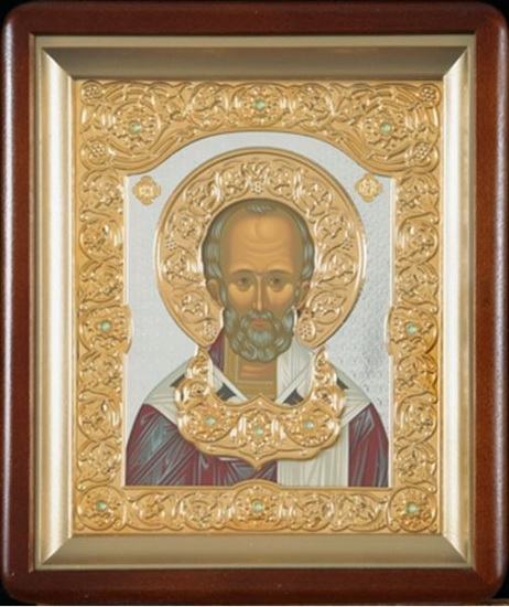 Икона Николая Чудотворца, епископа Мирликийского