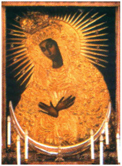 Икона Богородицы Остробрамская