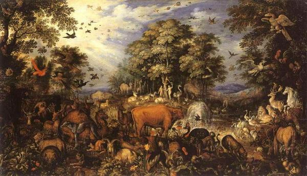 Рулант Саверей. Рай. 1626