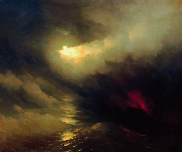 И. Айвазовский. Сотворение мира. 1864 г.