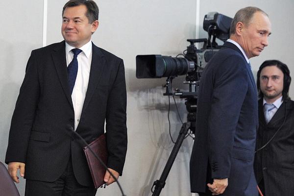 Сергей Глазьев и Владимир Путин