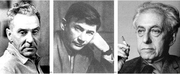 Владимир Померанцев, Валентин Овечкин, Илья Эренбург