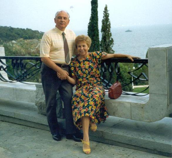 Михаил и Раиса Горбачевы в Крыму